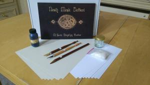 Arabic Calligraphy Set (Qalam,Ink,Lika,Inkwell,Papers,Practice book) - ISTANBUL